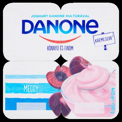 Kép Danone meggyízű, élőflórás, zsírszegény joghurt 4 x 125 g