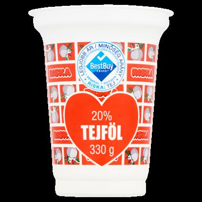 Kép Riska élőflórás, tejföl 20% 330 g