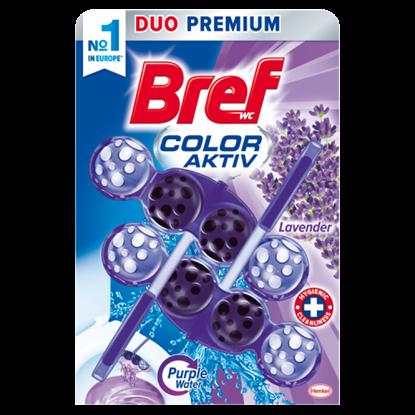 Kép Bref Color Aktiv Lavender WC-frissítő 2 x 50 g