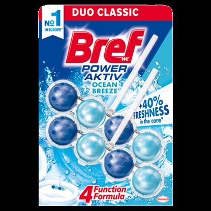 Kép Bref Power Aktiv Ocean Breeze WC-frissítő 2 x 50 g