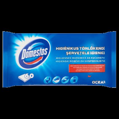 Kép DOMESTOS Higiénikus Törlőkendő Ocean 60 db