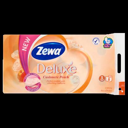 Kép Zewa Deluxe Cashmere Peach 3 rétegű toalettpapír 8 tekercs