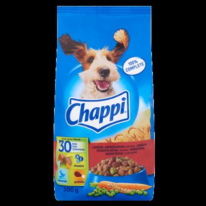 Kép Chappi teljes értékű eledel felnőtt kutyák számára marhahússal, baromfihússal és zöldségekkel 500 g