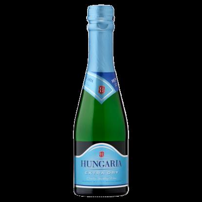 Kép Hungaria Extra Dry palackban erjesztett különlegesen száraz fehér minőségi pezsgő 0,2 l