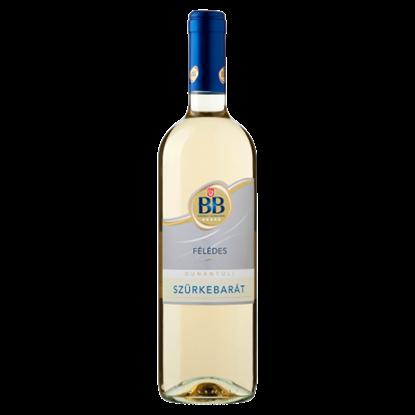 Kép BB Dunántúli Szürkebarát félédes fehérbor 0,75 l