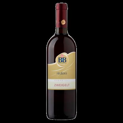 Kép BB Dunántúli Zweigelt félédes vörösbor 0,75 l