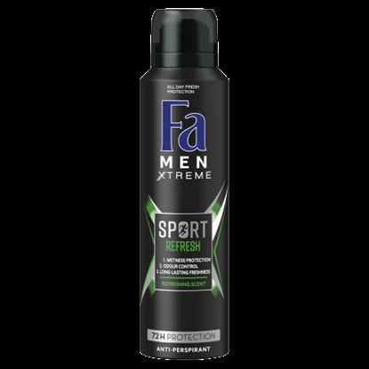 Kép Fa Men Xtreme Sport Refresh izzadásgátló deospray 150 ml