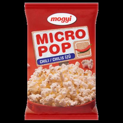 Kép Mogyi Micro Pop chilis ízű, mikrohullámú sütőben elkészíthető pattogatni való kukorica 100 g