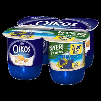Kép Danone Oikos Görög kekszízű élőflórás krémjoghurt 4 x 125 g
