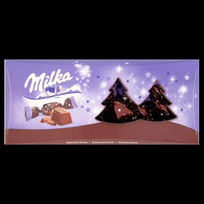 Kép Milka alpesi tejcsokoládé szaloncukor kakaós krémtöltelékkel 350 g