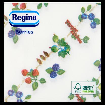 Kép Regina Berries szalvéta 1 rétegű 30 x 29 cm 60 db
