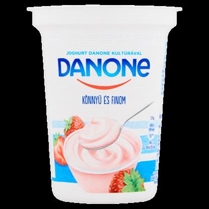 Kép Danone eperízű, élőflórás, zsírszegény joghurt 400 g