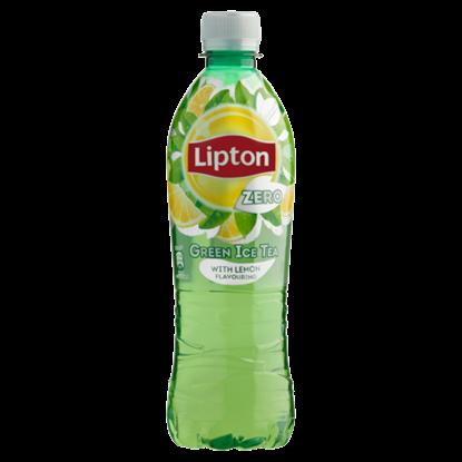 Kép Lipton Green Ice Tea Zero energiamentes citrom ízű szénsavmentes üdítőital édesítőszerekkel 500 ml