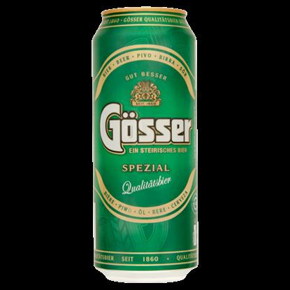 Kép Gösser Spezial minőségi világos sör 5,1% 0,5 l doboz