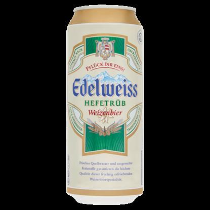 Kép Edelweiss Hefetrüb szűretlen világos búzasör 5,3% 0,5 l doboz