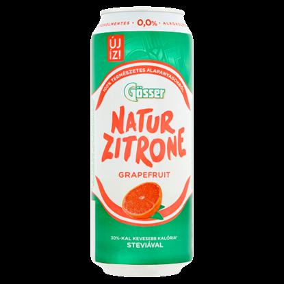 Kép Natur Zitrone alkoholmentes, grapefruitos szénsavas ital steviával 0,5 l doboz