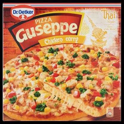 Kép Dr. Oetker Guseppe gyorsfagyasztott thai csirkés pizza masala és curry fűszerekkel 375 g