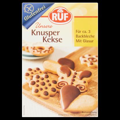 Kép RUF gluténmentes ropogós keksz mázzal 475 g