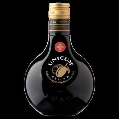 Kép Unicum Szilva gyógynövénylikőr 34,5% 0,5 l