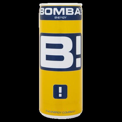 Kép BOMBA! magas koffeintartalmú, szénsavas, tutti-frutti ízű energiaital 250 ml