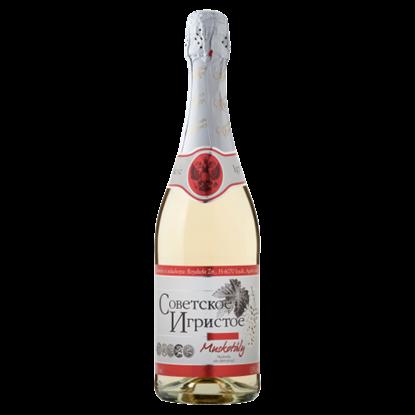 Kép Szovjetszkoje Igrisztoje Muskotály édes fehér pezsgő 11% 750 ml