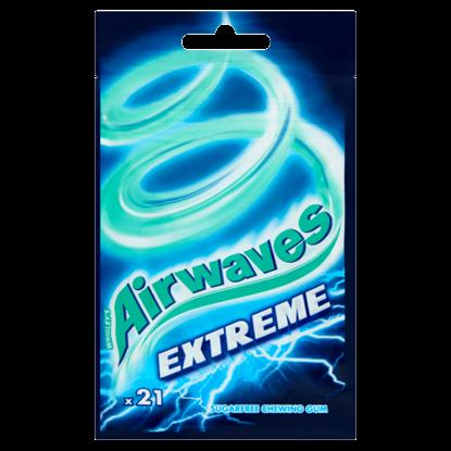 Kép Airwaves Extreme mentol- és eukaliptuszízű cukormentes rágógumi 21 db 29 g