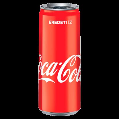 Kép Coca-Cola colaízű szénsavas üdítőital 330 ml