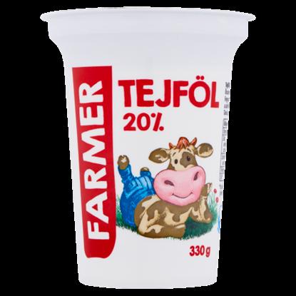 Kép Farmer tejföl 20% 330 g