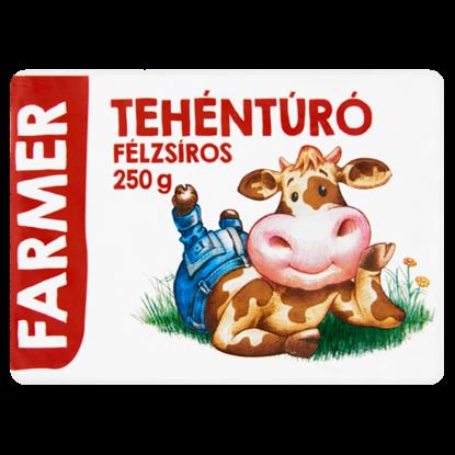 Kép Farmer félzsíros tehéntúró 250 g