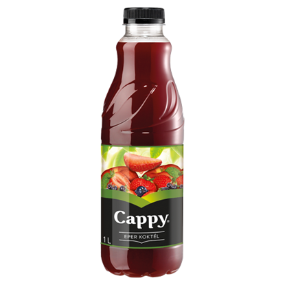 Kép Cappy Eper Koktél vegyesgyümölcs ital 1 l