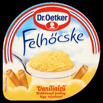 Kép Dr. Oetker Felhőcske vaníliaízű puding tejszínnel 125 g