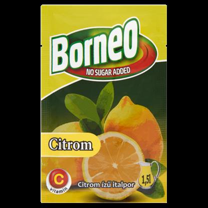 Kép Borneo citrom ízű italpor hozzáadott cukor nélkül, édesítőszerrel 9 g