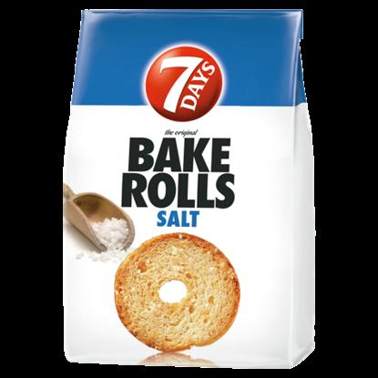 Kép 7DAYS Bake Rolls sós kétszersült 80 g