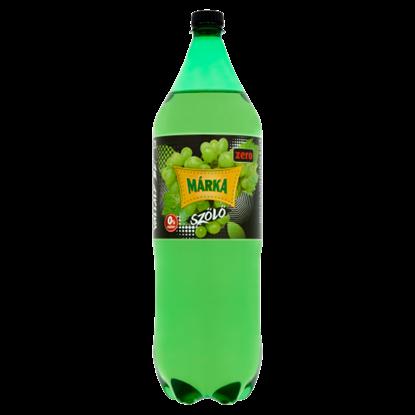 Kép Márka Zero szőlő energiamentes szénsavas üdítőital édesítőszerekkel 2 l