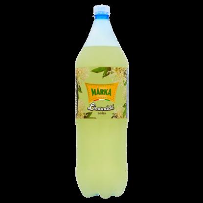Kép Márka Limonádé bodza ízű szénsavas üdítőital cukorral és édesítőszerekkel 2 l