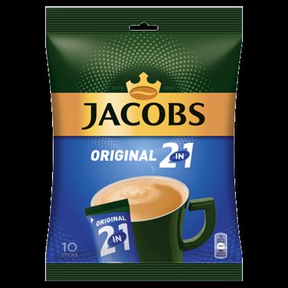 Kép Jacobs Original 2in1 azonnal oldódó kávéitalpor 10 db 140 g