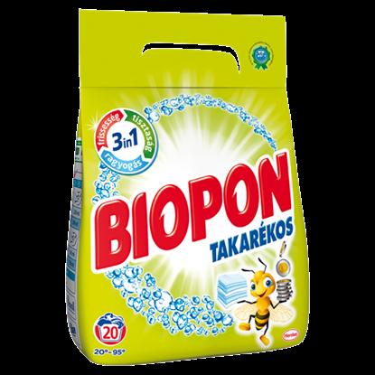 Kép Biopon Takarékos mosószer por 20 mosás 1,4 kg