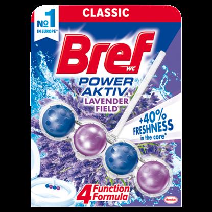Kép Bref Power Aktiv Lavender Field WC-frissítő 50 g