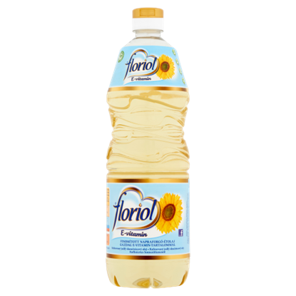 Kép Floriol finomított napraforgó étolaj gazdag E-vitamin tartalommal 1 l