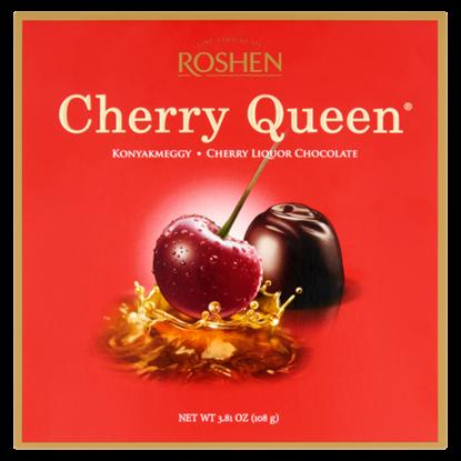 Kép Cherry Queen étcsokoládés konyakmeggy 108 g