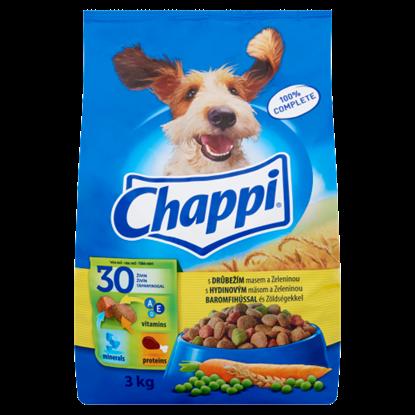 Kép Chappi teljes értékű állateledel felnőtt kutyák számára baromfihússal és zöldségekkel 3 kg
