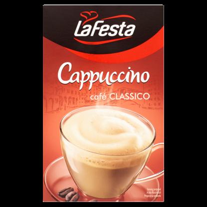 Kép La Festa Cappuccino klasszikus instant kávéitalpor 10 db 125 g
