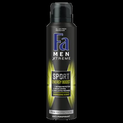 Kép Fa Men Xtreme Sport Energy Boost izzadásgátló deospray 150 ml