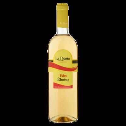 Kép La Fiesta Édes Élmény Duna-Tisza Közi Cuvée édes magyar fehérbor 10% 750 ml
