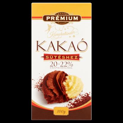 Kép Szerencsi Konyhatündér kakaópor ajándék kakaós ét tortabevonóval 150 g