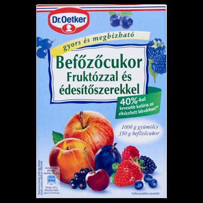 Kép Dr. Oetker befőzőcukor fruktózzal és édesítőszerekkel 350 g