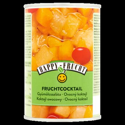 Kép Happy Frucht gyümölcssaláta befőtt 410 g