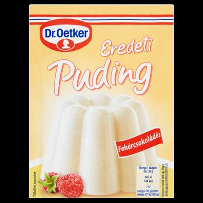 Kép Dr. Oetker Eredeti Puding fehércsokoládés pudingpor 46 g