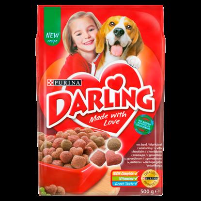 Kép Darling teljes értékű állateledel felnőtt kutyák számára marhával 500 g