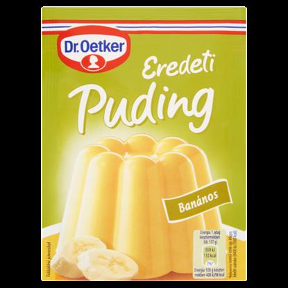 Kép Dr. Oetker Eredeti Puding banános pudingpor 40 g
